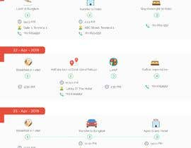 Nro 7 kilpailuun One page multi day package itineary design HTML -100% responsive käyttäjältä Himal20