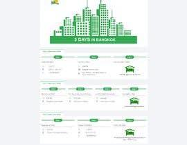 Nro 19 kilpailuun One page multi day package itineary design HTML -100% responsive käyttäjältä imamhossain0049