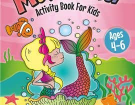 logo24060 tarafından Mermaid Activity Book Cover (Ages 4-6) için no 55