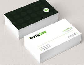 #196 для I need someone that can design the front and back of a very modern and sleek business card for a full stack developer looking to land the job of his dreams. The business card must be very stylish and impressive at first sight. от Uttamkumar01