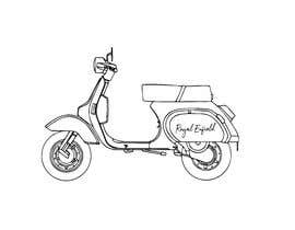 #14 cho Design (draw, model or computer genterate) a motor scooter for me. bởi niloynill512