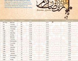 #7 untuk Ramadan calendar design oleh sho57af5c78a8284
