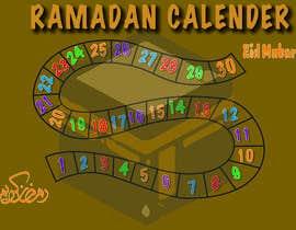 #9 untuk Ramadan calendar design oleh sohaibakhtar0001