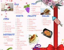 #14 untuk Make a Food Menue for Nureen Birthday oleh knowledge23