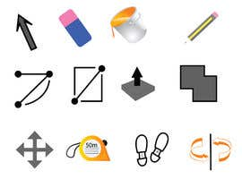 #5 untuk Create 10 icons with same concepts but different design oleh hamza1994katkout