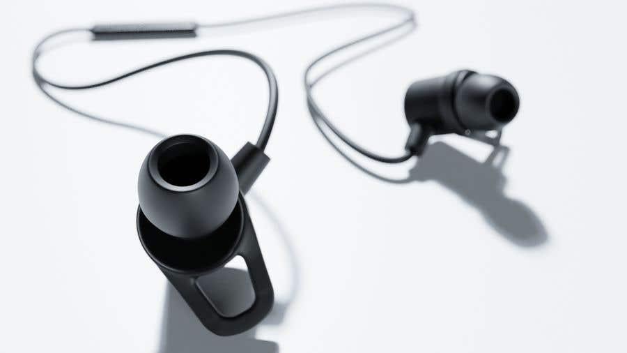 Proposition n°4 du concours 3d Model for earphone