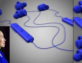 #12 untuk 3d Model for earphone oleh Programmming3D