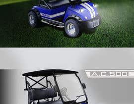 nº 13 pour Photoshop headlights into golf cart par montejopau