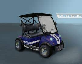 nº 22 pour Photoshop headlights into golf cart par jakubmajtyka
