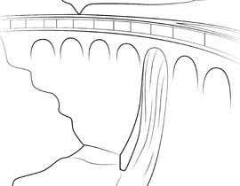 Nro 11 kilpailuun Minimalist Re-Creation of a Dam. Tattoo Drawing käyttäjältä Hannahyan