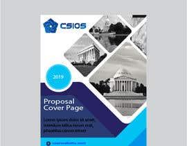 Nro 46 kilpailuun Build me a proposal cover page käyttäjältä ArfanDesigner
