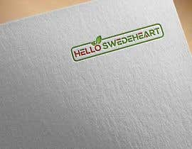 "farukparvez tarafından I need a logo for my family blog ""Hello Swedeheart"" için no 62"