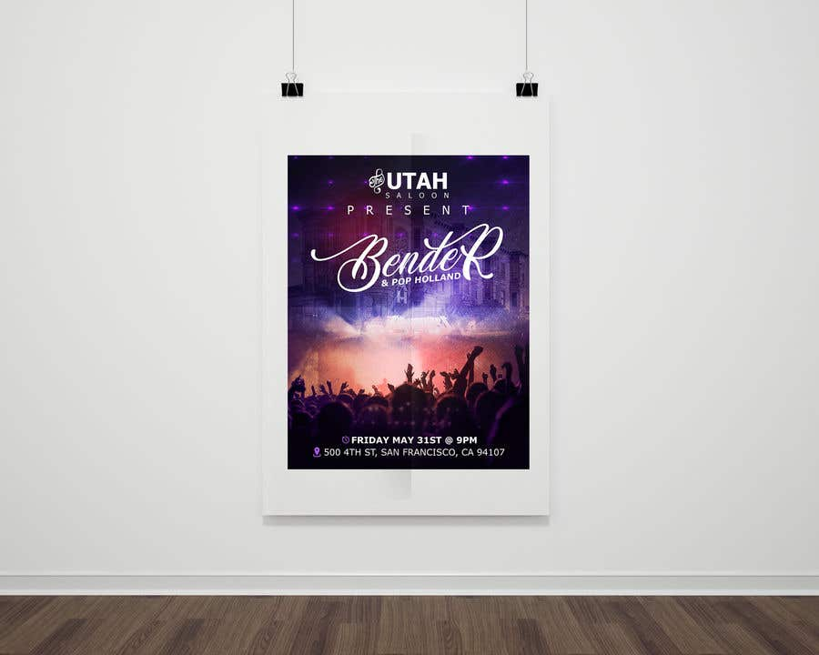 Contest Entry #99 for Band Gig Poster