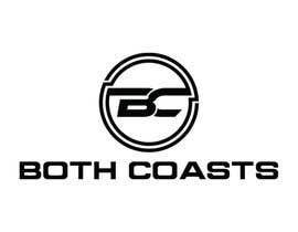 #123 for Both Coasts logo af rabiul199852
