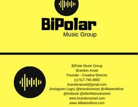 #19 cho BiPolar Music Logo & Business Card bởi Izuraismail