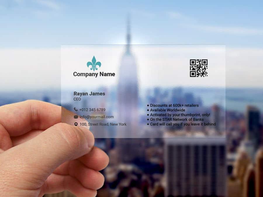 Konkurrenceindlæg #71 for Design a Cool Business Card