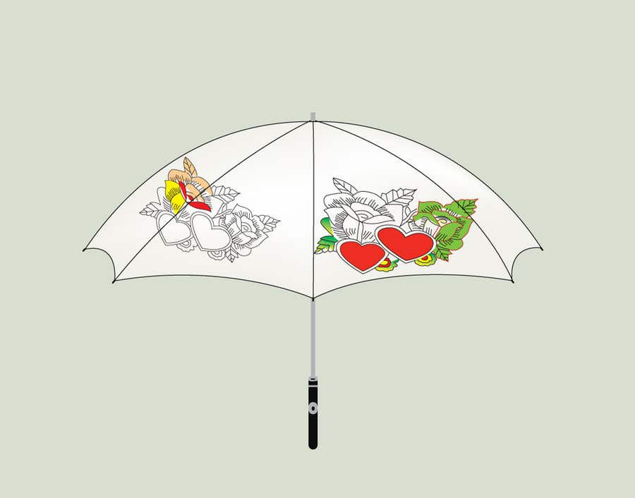 Proposition n°105 du concours need for a pattern design for the umbrella in the attached photo