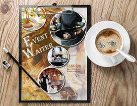 #36 cho Design Flyers for My Waiter/Bartender Hire Business bởi shahela17