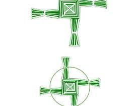 AngiePavlov tarafından Design me an Image Cartoon Style - Irish St Bridgets Cross için no 5