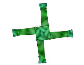 #12 untuk Design me an Image Cartoon Style - Irish St Bridgets Cross oleh Fadysaeed
