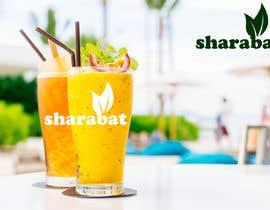 Nro 101 kilpailuun Logo for a refreshing drink - sharabat käyttäjältä anubegum