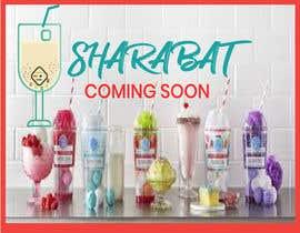 Nro 105 kilpailuun Logo for a refreshing drink - sharabat käyttäjältä safiul031982