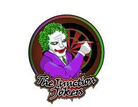 #14 for Illustrate a Joker Logo with dartboard by ElementalMantis