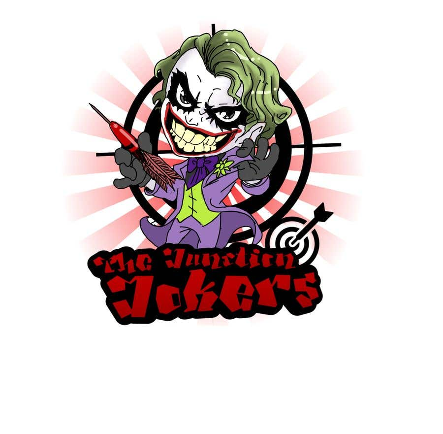 Proposition n°20 du concours Illustrate a Joker Logo with dartboard