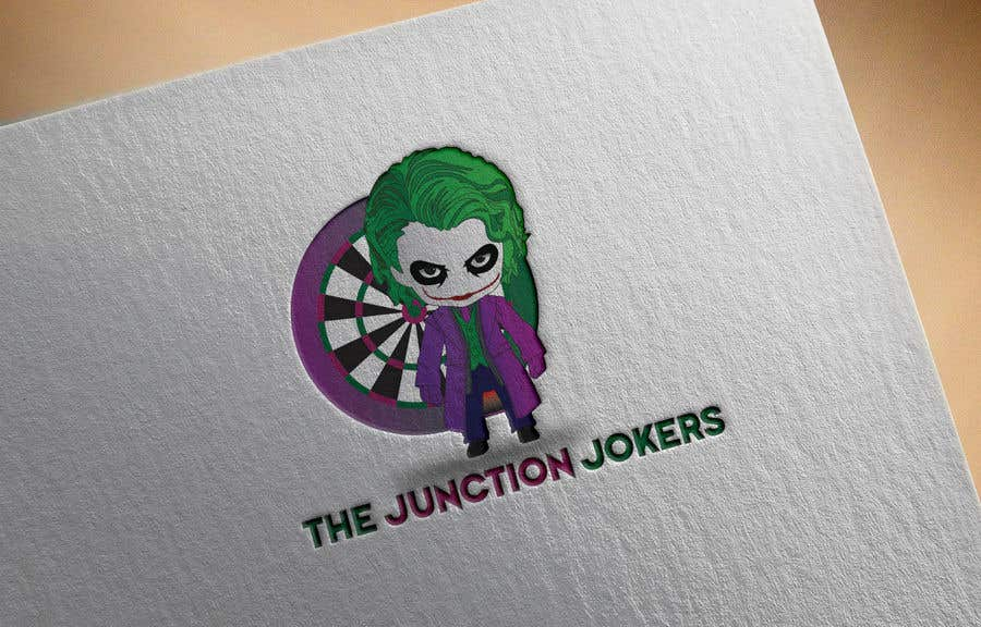 Proposition n°13 du concours Illustrate a Joker Logo with dartboard