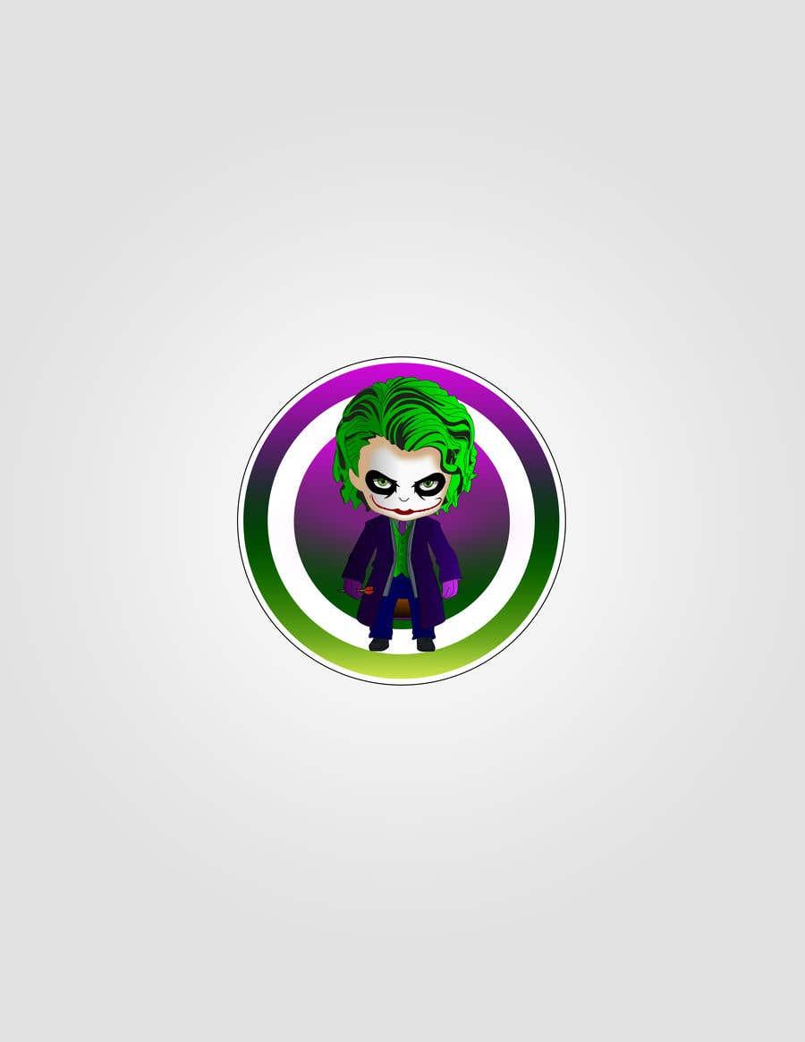 Proposition n°2 du concours Illustrate a Joker Logo with dartboard