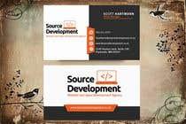 Graphic Design Kilpailutyö #368 kilpailuun Re-Design a Business Card for a Website & App Development Company