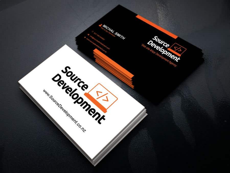 Inscrição nº 70 do Concurso para Re-Design a Business Card for a Website & App Development Company