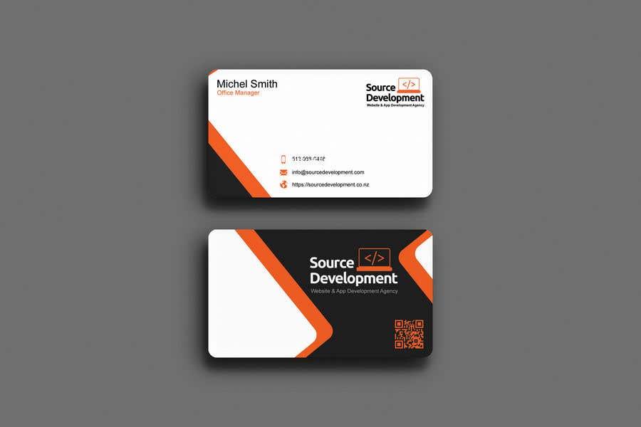 Inscrição nº 67 do Concurso para Re-Design a Business Card for a Website & App Development Company