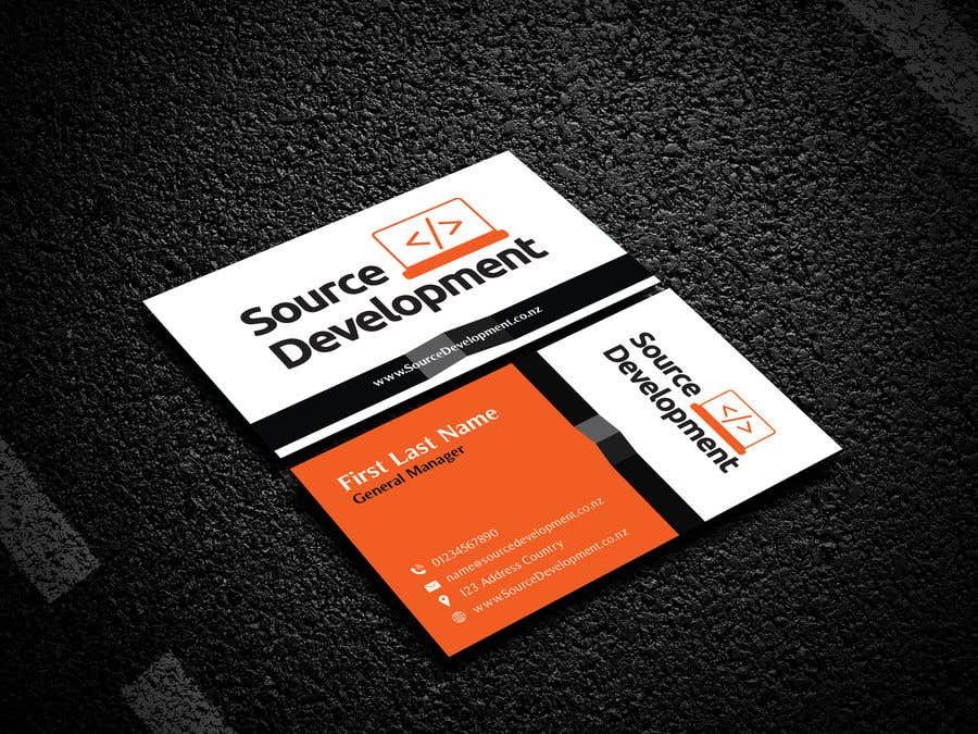 Inscrição nº 132 do Concurso para Re-Design a Business Card for a Website & App Development Company