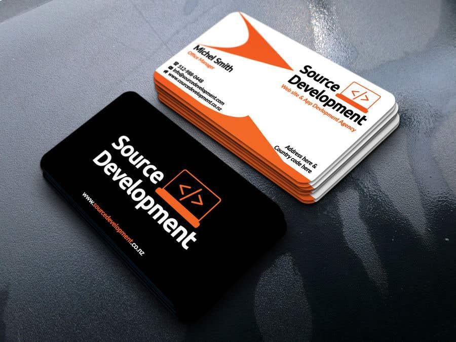 Inscrição nº 32 do Concurso para Re-Design a Business Card for a Website & App Development Company