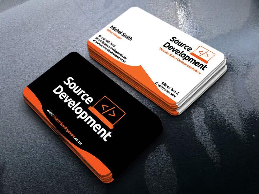 Inscrição nº 36 do Concurso para Re-Design a Business Card for a Website & App Development Company