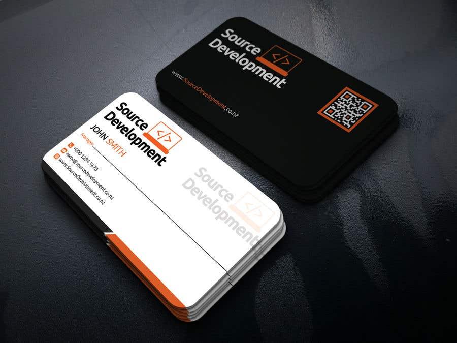 Kilpailutyö #120 kilpailussa Re-Design a Business Card for a Website & App Development Company