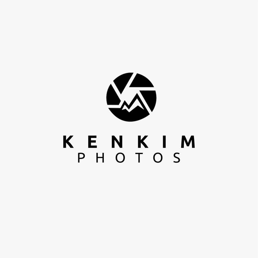 """Contest Entry #155 for I need a logo for my photography page. The logo will be written as """"KenKimPhotos"""", not really looking for a particular design but something that will catch my eyes. It's simple best catchy design wins, if it's reallllly great, I'll increase the budget - 2"""
