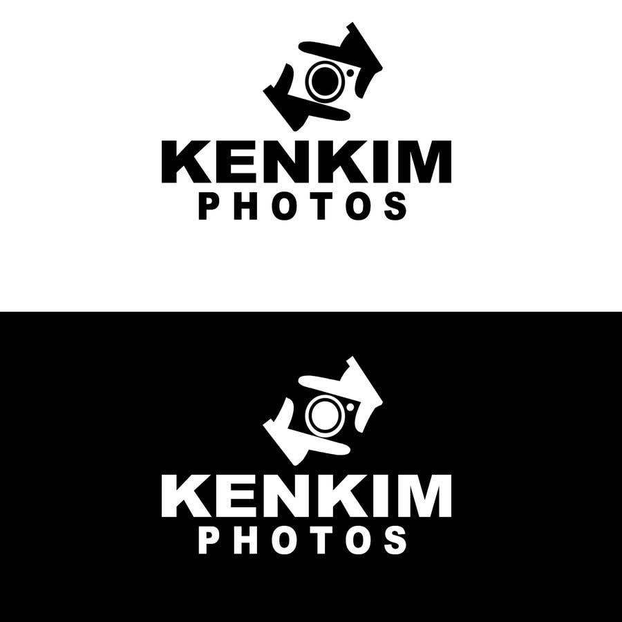 """Contest Entry #127 for I need a logo for my photography page. The logo will be written as """"KenKimPhotos"""", not really looking for a particular design but something that will catch my eyes. It's simple best catchy design wins, if it's reallllly great, I'll increase the budget - 2"""