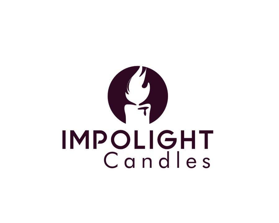 Contest Entry #42 for Impolight Candles Logo