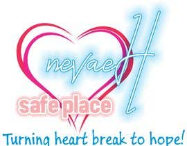 "Nro 15 kilpailuun 1. I want the logo to have the format of IMG_0602 2. With a pink heart like IMG_0603 3. With the script of IMG_0604 4. 1st line. ""nevaeH"" 2nd line ""Safe Place"".  3rd ""Turning heart break to hope"" käyttäjältä victoraguilars"