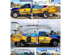 nº 11 pour Bucket Truck Wrap, Kustom Signs par monstersox