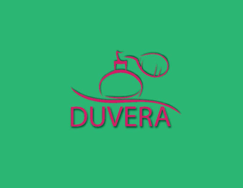 Contest Entry #23 for Company name is Duvera. I need a contemporary and minimalist logo designed. We are looking to use a white, gold, and red color scheme.