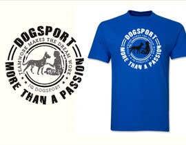 #44 для Design for a T-Shirt around Dogsports от dulhanindi