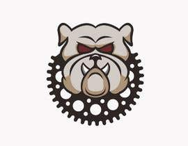 #7 for looking for a bulldog with a motocross sprocket for the collar. by MarlenaO