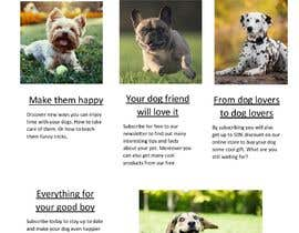 #16 for Landing page text (Collecting emails for dogs blog newsletter) by Squirrel00
