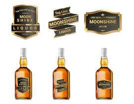 #8 for Moonshine Liquor Label af creativesanj