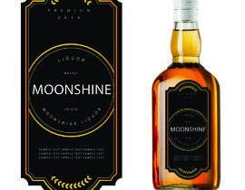 #11 for Moonshine Liquor Label af creativesanj
