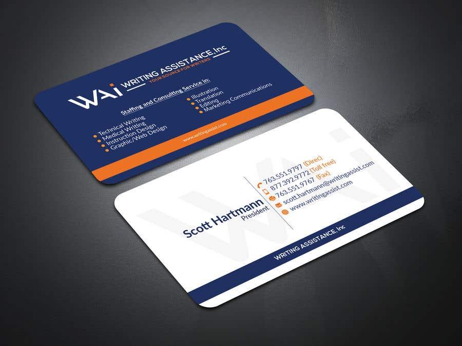 Inscrição nº 695 do Concurso para New Business Card Design