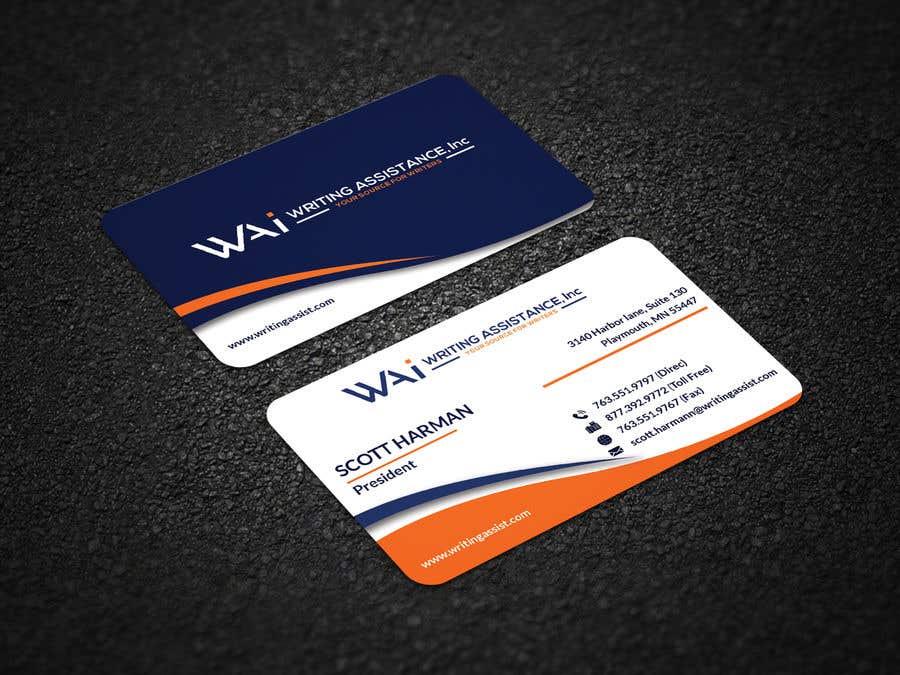 Inscrição nº 809 do Concurso para New Business Card Design
